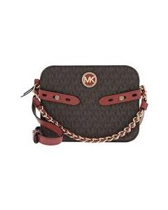 MICHAEL KORS Carmen Large Camera Crossbody Bag Terracotta