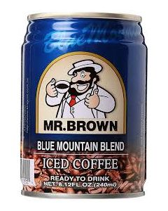MR BROWN BLUE MOUNTAIN BLEND ICED COFFEE (X2)