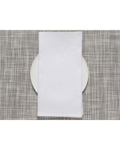 Chilewich Single Sided Napkins (White) 8pieces
