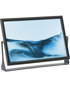 Create Swirling Landscapes Of Sand and Glitter