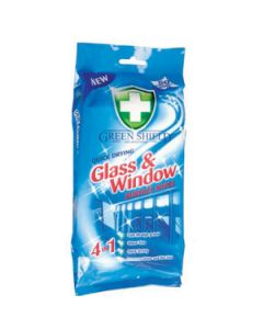 GREEN SHIELD GLASS & WINDOW WIPES