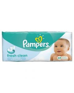 PAMPERS FRESH CLEAN WIPES (x 2)