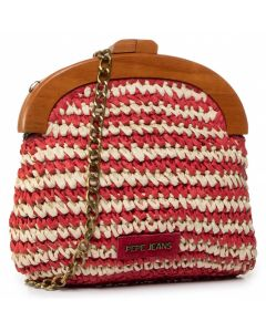 pepe jeans PL031119 red petra bag
