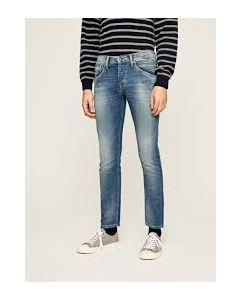 PEPE JEANS TRACK BLUE DENIM JEANS- MEN