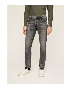 PEPE JEANS SPIKE BLACK DENIM JEANS- MEN
