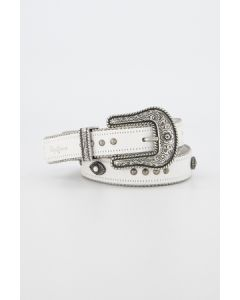 PEPE JEANS OFF WHITE BELT CALI BELT