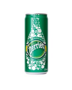 PERRIER CAN 330ML (4 CANS)
