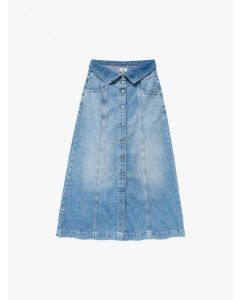 PEPE JEANS- BELL DENIM MIDI SKIRT