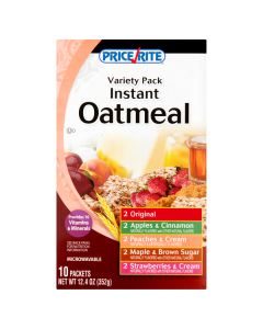 PRICE RITE INSTANT OATMEAL