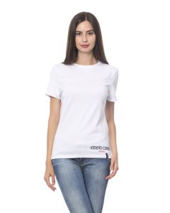 Roberto Cavalli Short Sleeve T-Shirt White