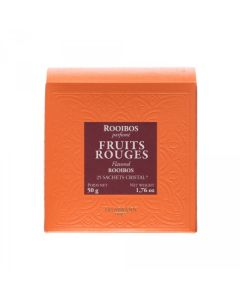 Damman BTE 25S.CRISTAL ROOIBOS FRUITS ROUGES