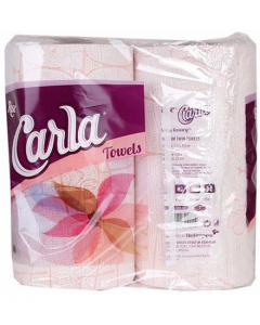 Rose Carla Twin Towels