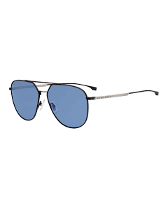 BOSS BLACK SUNGLASSES WITH BLUE LENSES