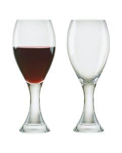 DRH- SET OF 2 MANHATTAN RED WINE GL