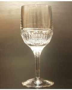 SAXON CRYSTAL 280ML GOBLET -PARIS CUT