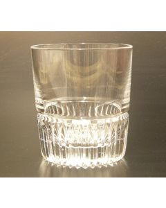 SAXON CRYSTAL 250ML TUMBLER -PARIS CUT