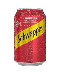 Schweppes chapman 330ml (6 cans)