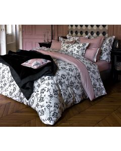 Yves Delorme Silhouet Poudre Fitted Sheet