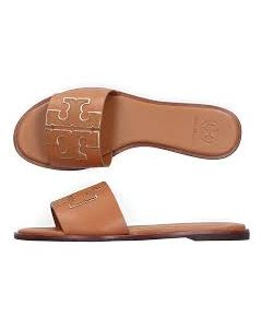 TORY BURCH- INES 55MM SLIDE- SPARK GOLD
