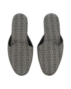 ROBERTO CAVALLI Platinum RC Slippers - Black/Platinum