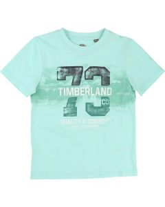 TIMBERLAND TURQUOISE T-SHIRT