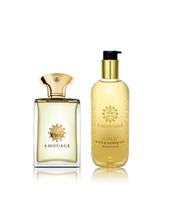 Amouage Gold Gift Set (EDP 100 ml + Shower Gel 300 ml)