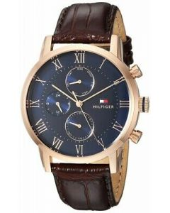 Tommy Hilfiger Kane Multi-FunctionCasual Brown Wrist Watch
