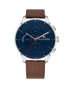 Tommy Hilfiger Analog Casual Chase Multi-Function Brown Men