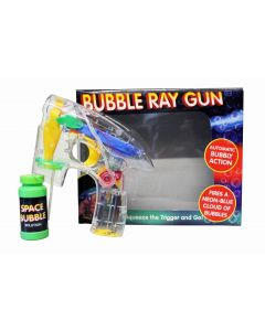 Bubble Ray Gun Automatic Toy Shooter