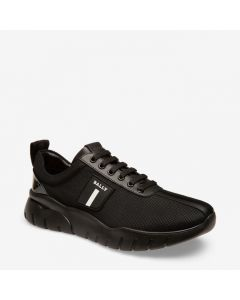 BALLY BINKY MEN'S FABRIC TRAINER IN BLACK