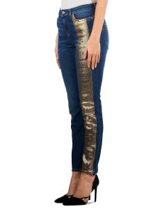 VERSACE Golden Jeans Blue