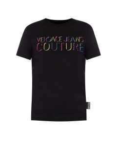 Versace Jeans Couture T-shirt B2HUB7G1 Black Regular Fit-XL