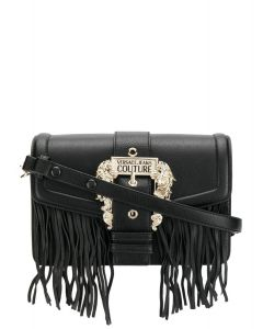 VERSACE JEANS COUTURE Baroque buckle shoulder bag