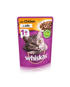 WHISKAS PCH CHICKEN IN JELLY (x 2 pcs)