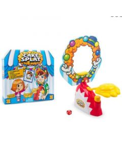 CAKE SPLAT Fun Kids Childrens Cream Pie PARTY GAME